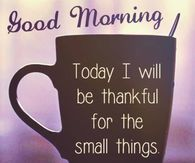 Thankful Good Morning