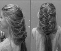 DIY Loose Braid