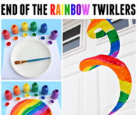 End of the rainbow twirlers