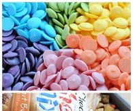 Rainbow Chex Mix
