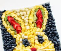 Bunny Head Fruit Platter