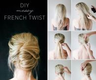 DIY Messy French Rwist