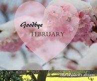 Goodbye February Hello March Nice Design
