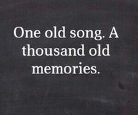 One old song