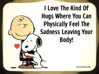 the kind of hugs