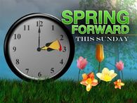 Spring Forward This Sunday
