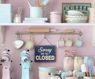 Retro Pastel Kitchen Accessories