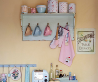 Vintage Pastel Kitchen