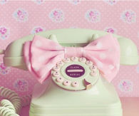Retro Pastel Telephone