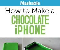 How to make a chocolate iphone
