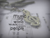 Music can change the world because music changes people