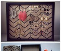 DIY Jewelry Oranization Board