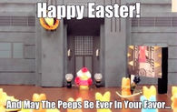 May the peeps be in your favor