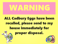 warning about easter