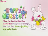 Easter the day of God