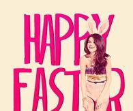 Selena Gomez Happy Easter