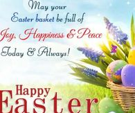 May your Easter basket be full always