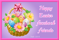 Happy Easter Facebook Friends