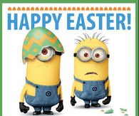 Happpy Easter Minions