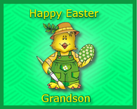 Happy Easter To My Grandson