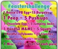 Easter Workout Challenge