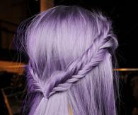 Pretty Purple Hairstyle