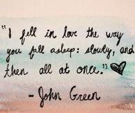 I Fell In Love The Way You Fall Asleep