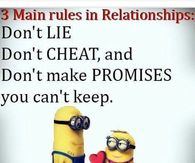 3 Main Rules In Relationships