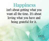 Happiness Is About Being Grateful