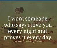 I Want Someone Who