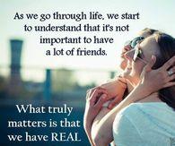As We Go Through Life...