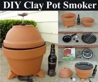 DIY Clay Pot Grill