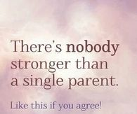a single parent
