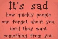 its sad