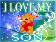 i love my son