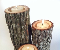 DIY Autumn Tree Branch Candles
