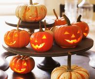 Jack-O-Lantern  Halloween Centerpiece