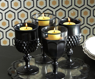 Candleholder Goblets Display