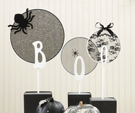 Boo Embroidery Hoop Centerpiece