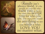 family isnt always blood