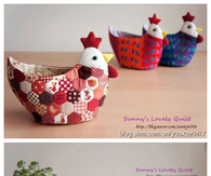 DIY Chicken Flower Pot Cover