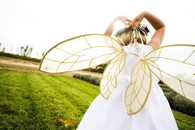 DIY fairy wings