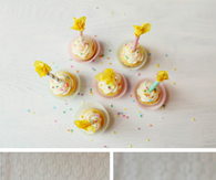 Birthday candle cupcake toppers