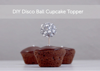 Disco ball toppers