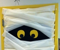 Halloween Mummy Door & Craft Halloween Party Pictures Photos Images and Pics for ...