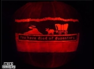 Oregon trail jack o lantern