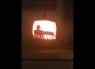 Mad Men Jack o Lantern