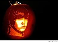 Justin Bieber Jack o Lantern