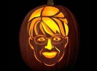 Sarah Palin Jack o lantern