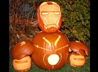 Iron Man Jack O Lantern